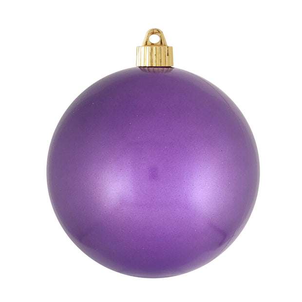 "6"" (150mm) Shatterproof Ball Ornaments, Candy Crocus, 1/Ea, 12/Case, 12 Pieces"