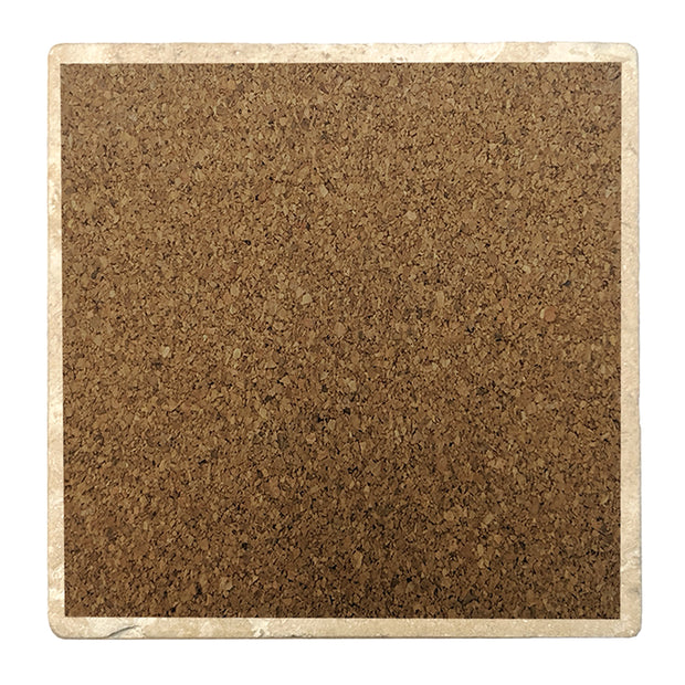 "4"" Absorbent Stone Christmas Drink Coasters, Home, 2 Sets of 4, 8 Pieces - Christmas by Krebs Wholesale"