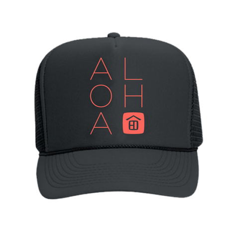 Vacation Rental ALOHA Trucker Hat