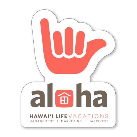 Vacation Rental Shaka Stickers