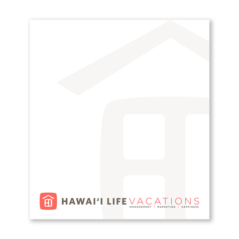 Vacation Rental Notepads