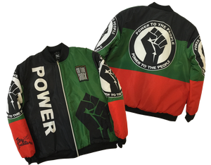 ZC Power To the People Bomber Jacket (PREORDER)