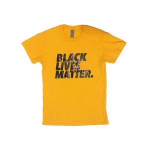 "ZC ""Black Lives Matter"" Tee (GOLD)"