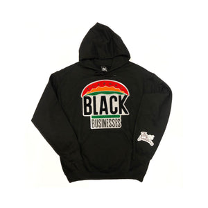 "ZC """"Support Black Businesses"" Hoodie BLACK (PREORDER)"