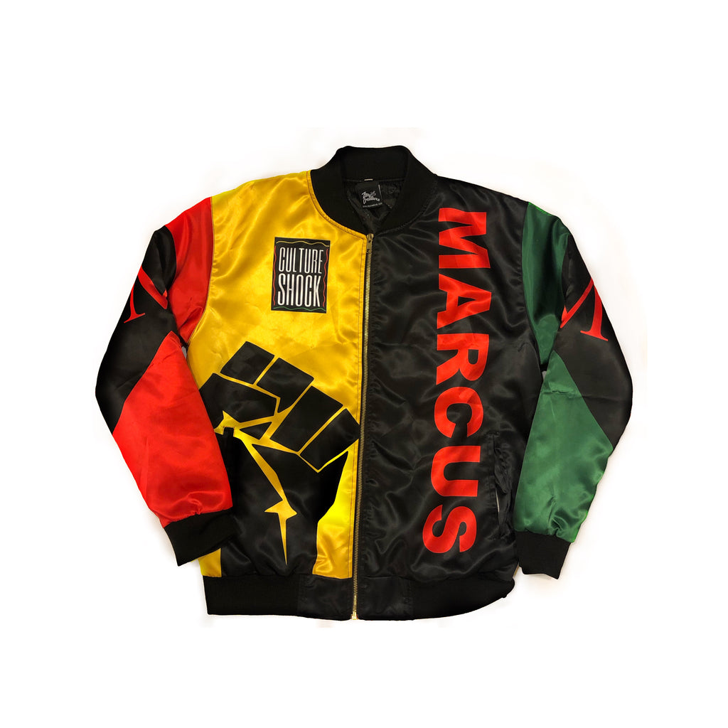 CULTURE SHOCK: MARCUS GARVEY Bomber Jacket (PREORDER)