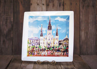 St. Louis Cathedral Platter