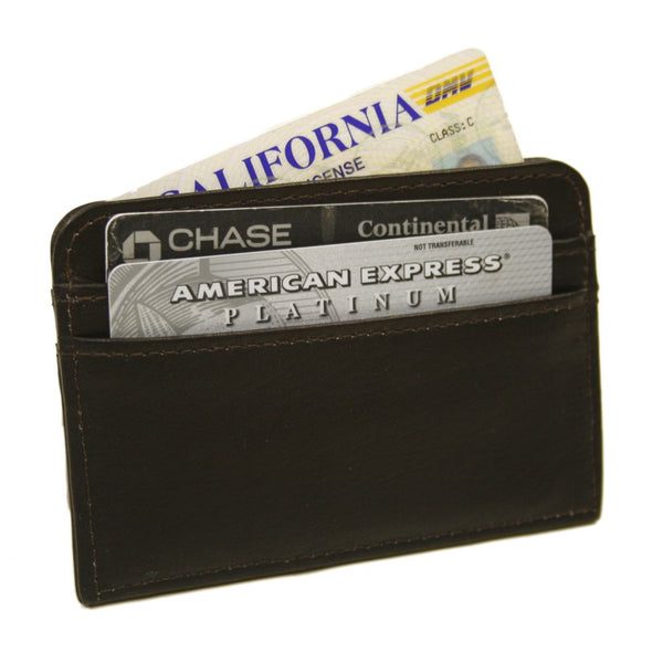 Slim Business Card Case Black