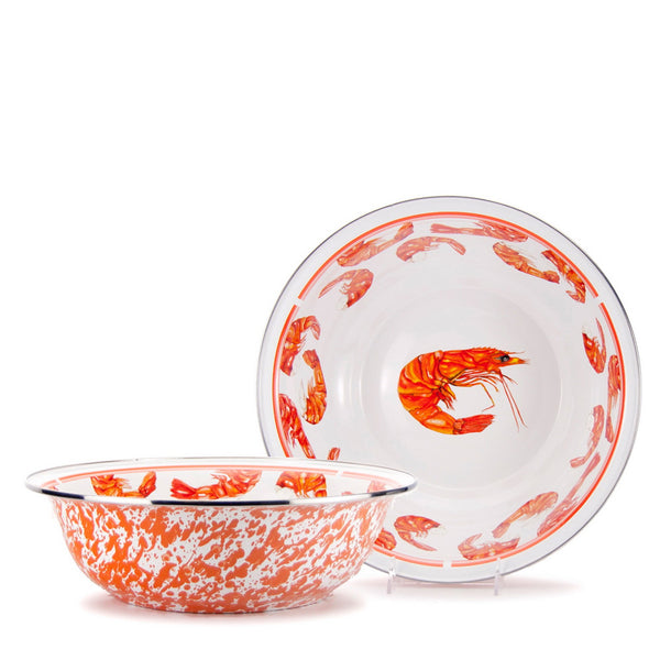 Shrimp Serving Basin