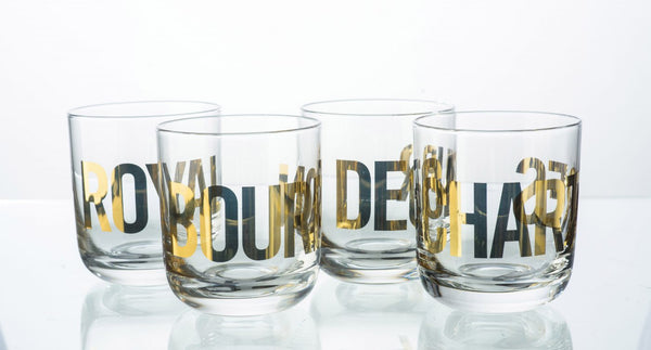 French Quarter Glassware Set of 4