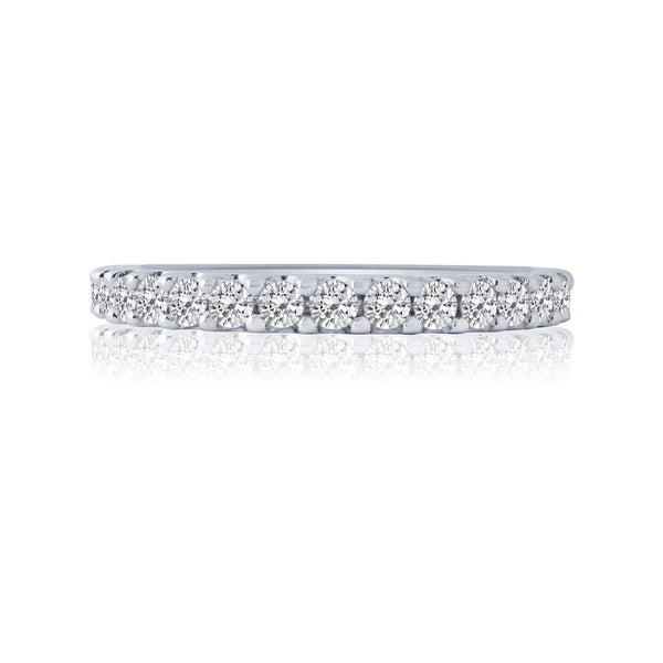 Shared Prong Diamond Band