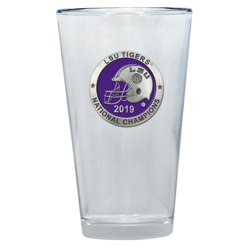 LSU 2019 National Championship Pint Glass