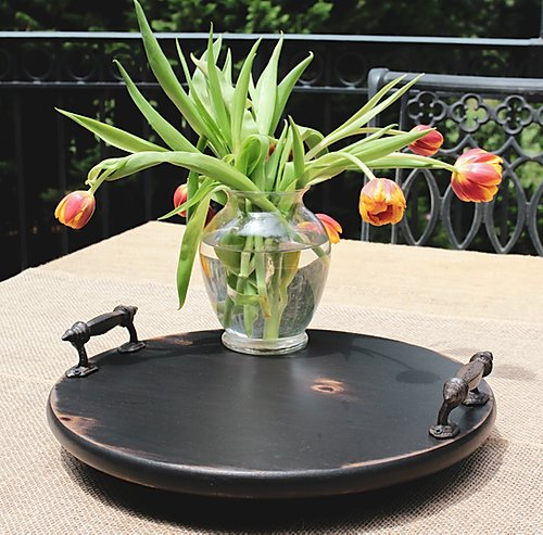 Small Lazy Susan Black
