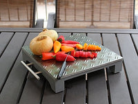 Small Diamond Plate Tray