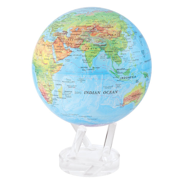 6 In Political Map Spinning Globe