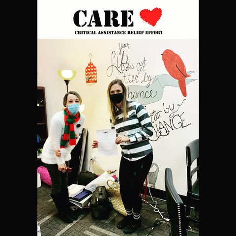 CARE Complex Sock Donation from CRU SOX