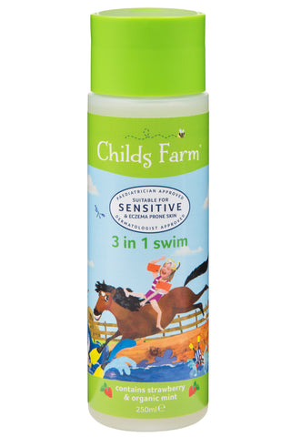Childs Farm 3 in 1 Swim, strawberry & organic mint