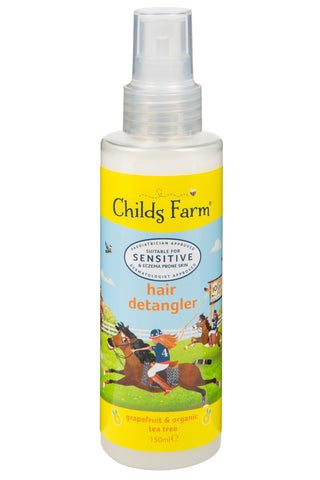 Childs Farm hair detangler, grapefruit and organic tea tree oil