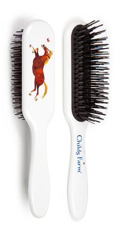 Childs Farm limited edition Tangle Tamer hairbrush