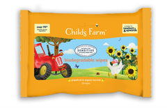 Childs Farm biodegradable wipes