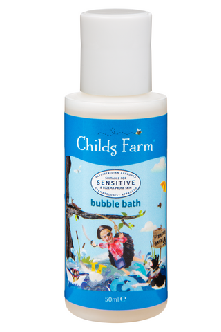 Childs Farm bubble bath, organic raspberry