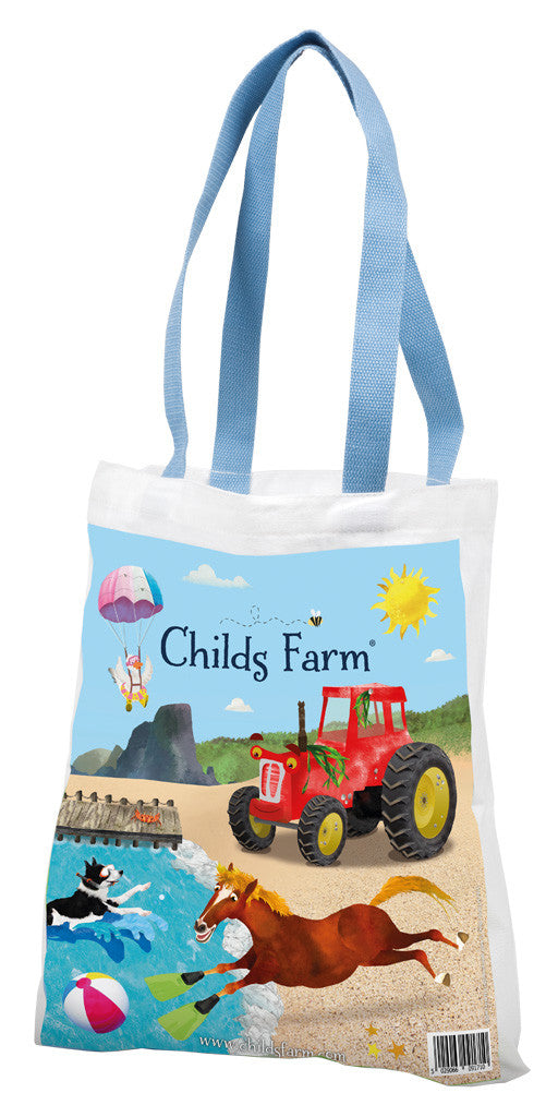 Childs Farm canvas bag - swim edition