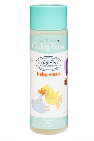 Childs Farm baby wash, unfragranced