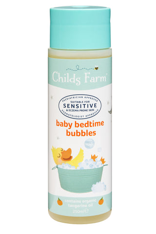 Childs Farm baby bedtime bubbles, organic tangerine