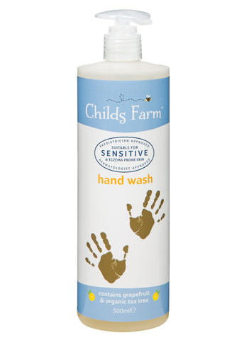 Childs Farm hand wash, grapefruit & organic tea tree oil