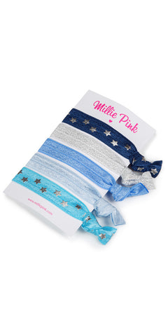 Hair ties by Millie Pinks - Starry skies