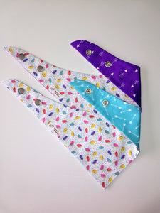 Mini Donuts and Arrows Reversible Pet Bandana