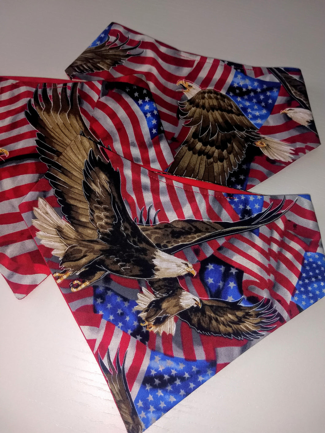 America Snap-on Pet Bandana