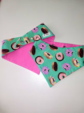 Load image into Gallery viewer, Sprinkled Donut Snap-on Pet Bandana