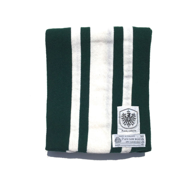 University Scarf - Forest Green/White