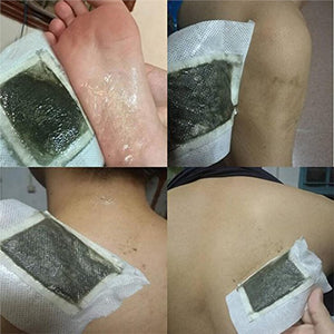 10pcs Cleansing Detox Foot Patch Beauty Foot Pad Forest Spa Sticker with Adhesive Sheet