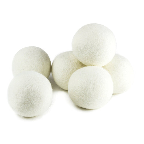 Wool Dryer Balls Natural Fabric Softener, Reusable, Reduce Wrinkles, Saves Drying Time