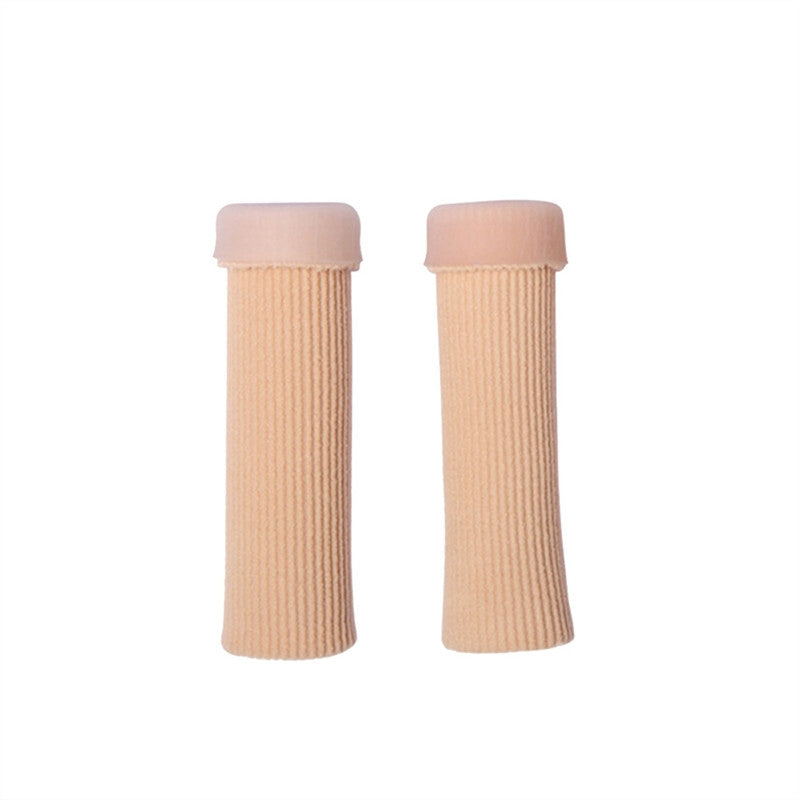 2 Pcs Finger Toe Wound Protect Sleeve Cure Foot Corns and Calluses Moisturizing Reduce Painful Feet Care