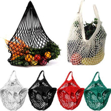 Load image into Gallery viewer, Reusable Shopping/Beach Mesh Bag