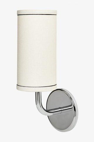 Flyte Single Arm Sconce in Nickel