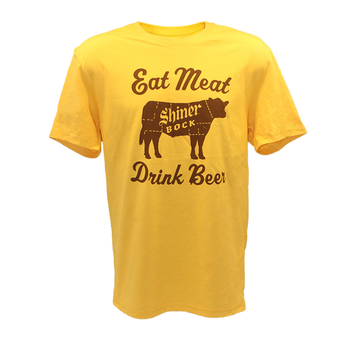 Eat Meat, Drink Beer - Gold