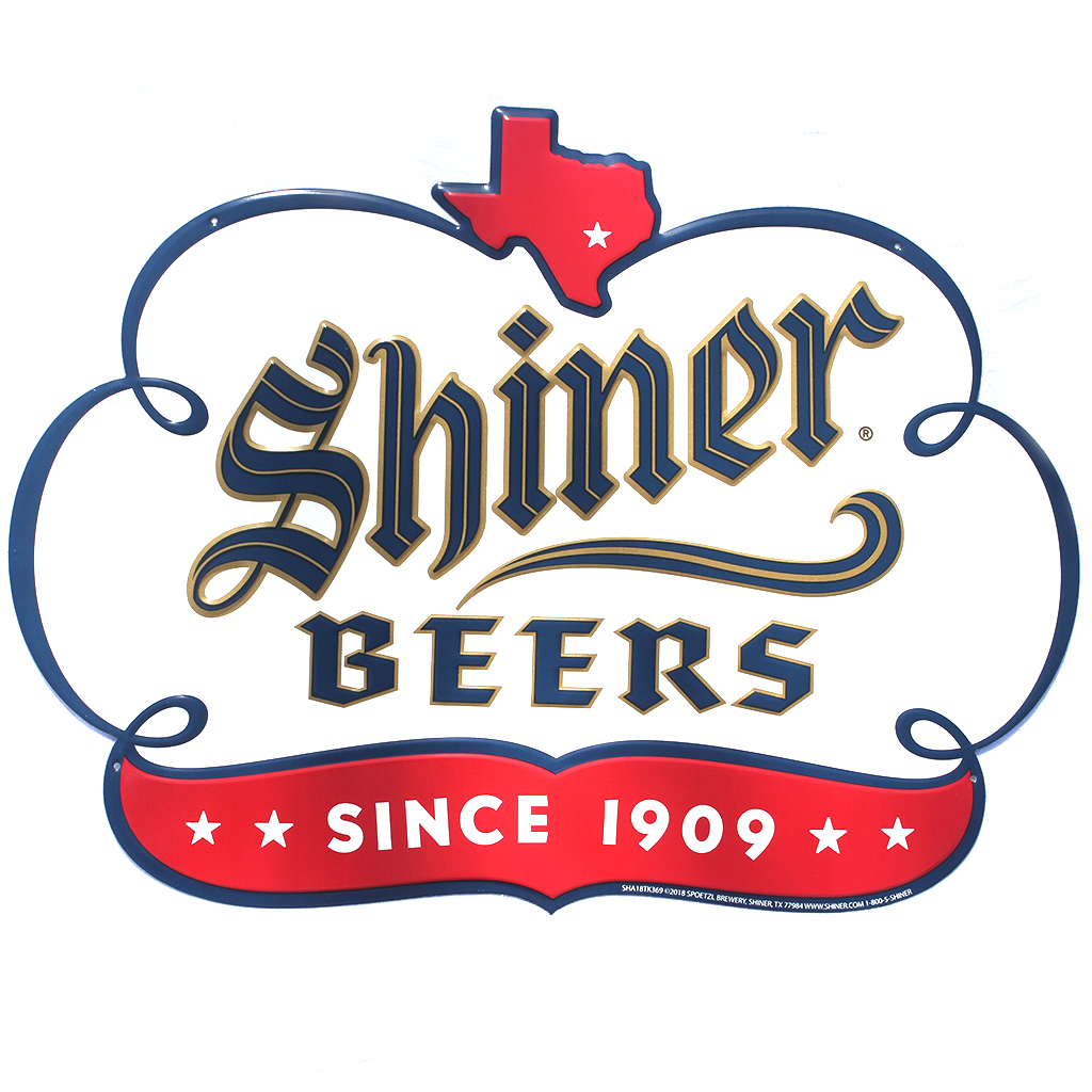 Shiner Beers Sign