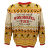 Gold Holiday Sweater