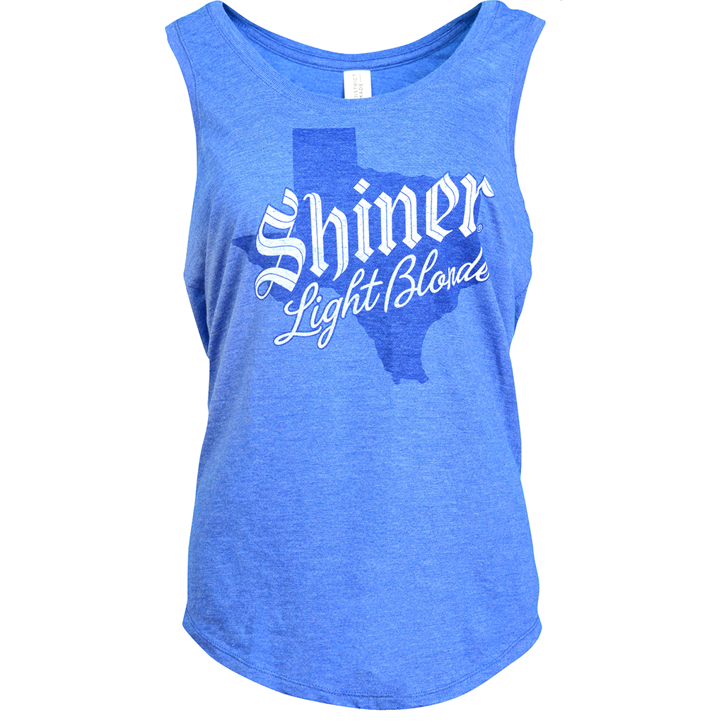 Shiner Ladies Light Blonde Tank
