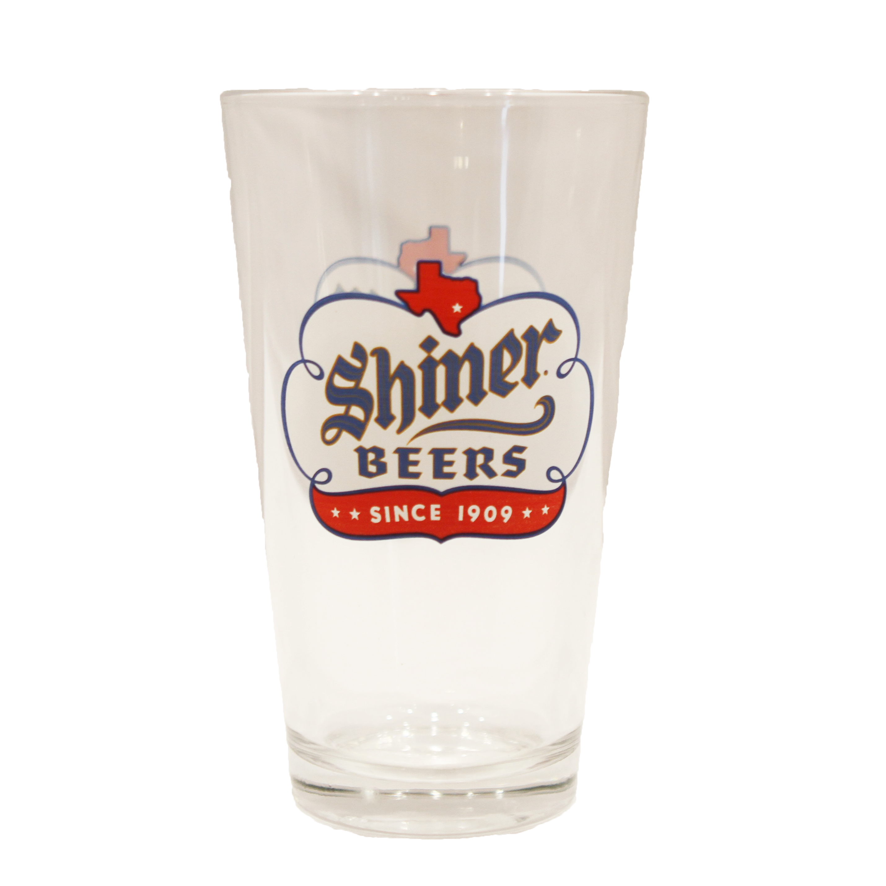 Shiner Premium Pint Glass