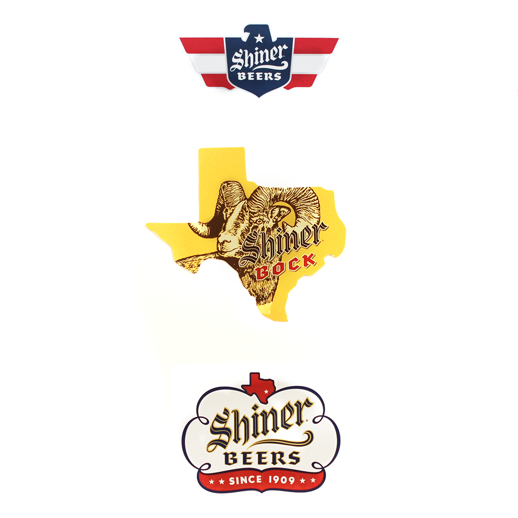 Shiner Sticker Pack
