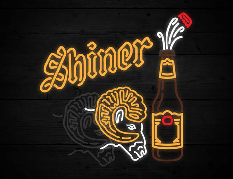 Shiner Bock Animated Ram LED