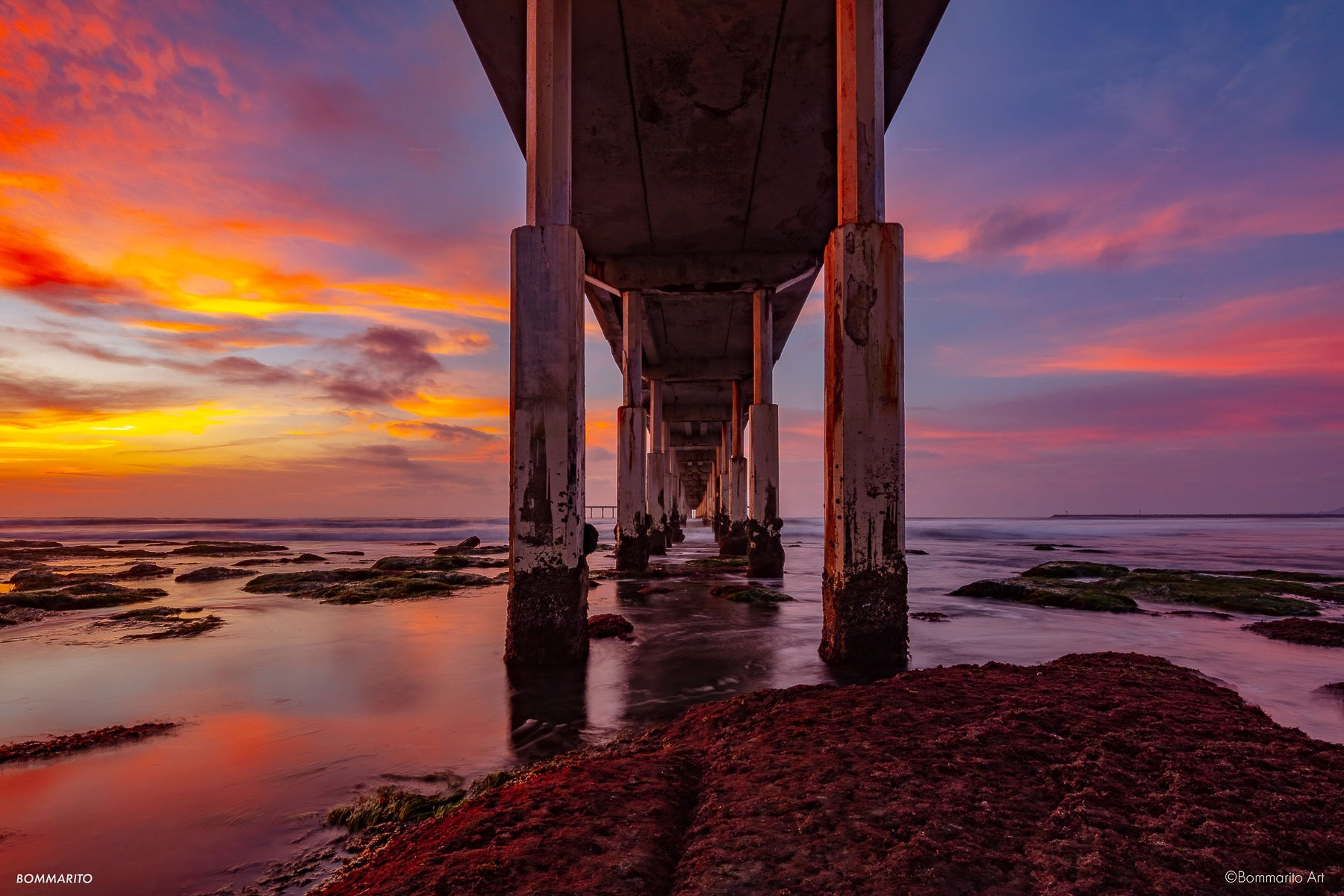 Twilight Reef Pier
