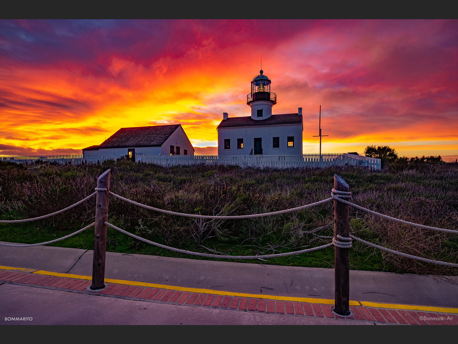 Lighthouse Afterglow