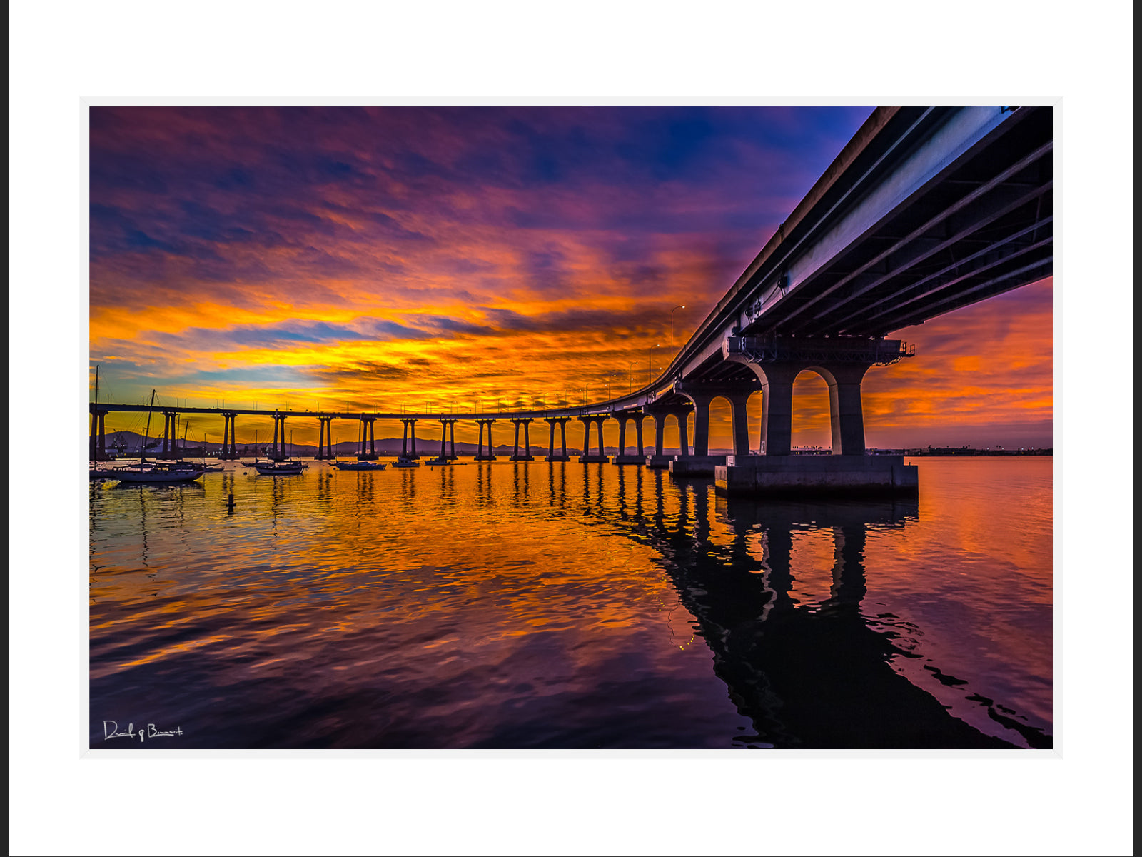 Coronado Bridge Sunrise