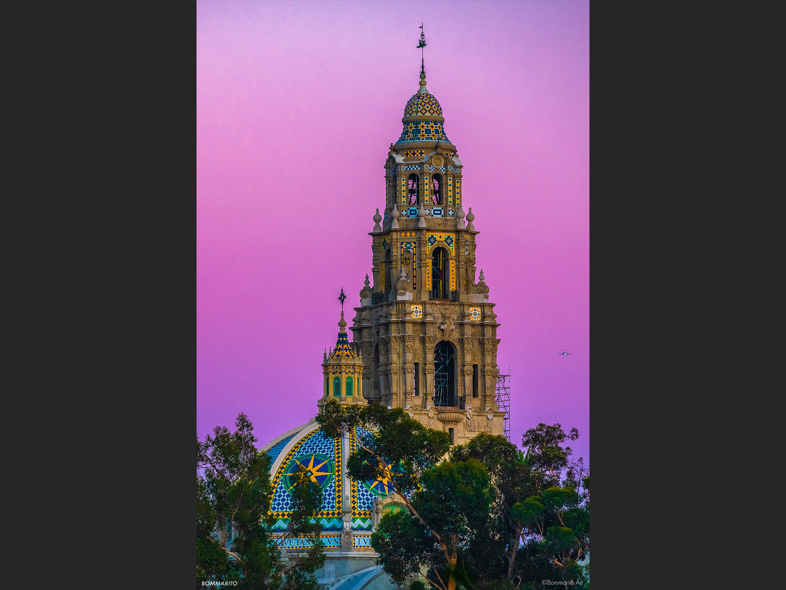 Historic California Tower