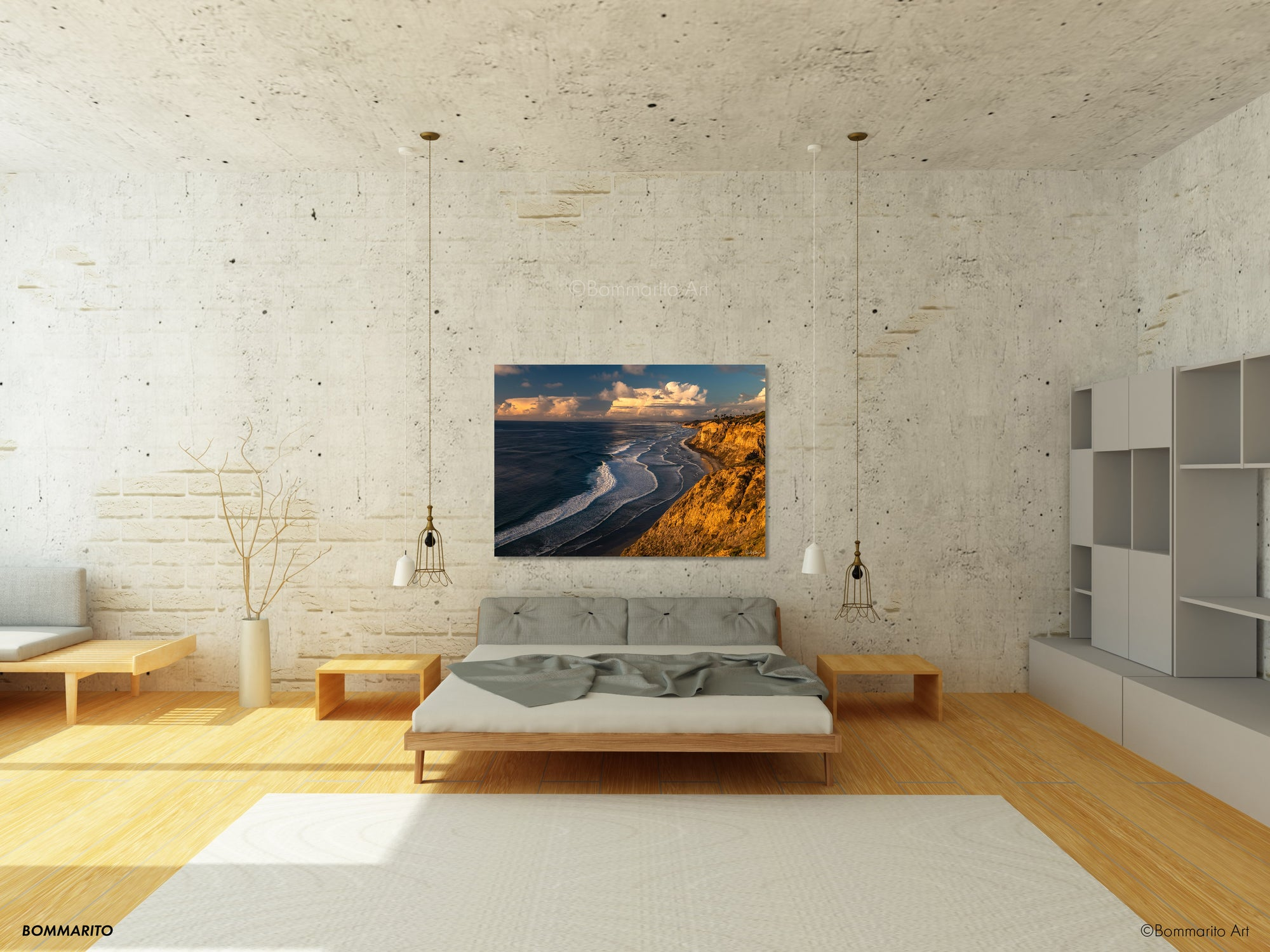 Black's Coastline - Bedroom